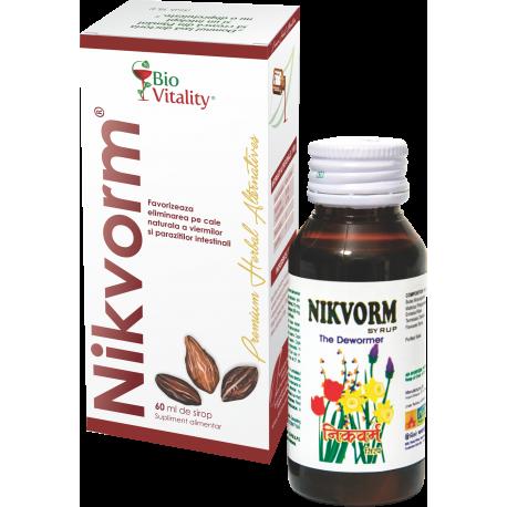 Nikvorm sirop 60 ml, Bio Vitality