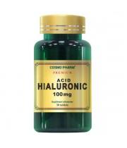 Acid Hialuronic, 100mg, 30 tablete, Cosmopharm