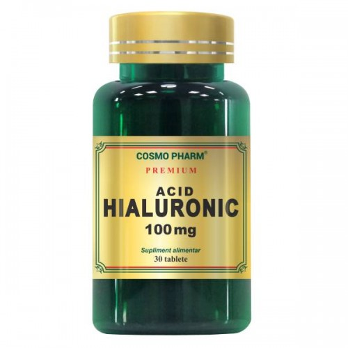 Acid Hialuronic, 100mg, 30 tablete, Cosmopharm