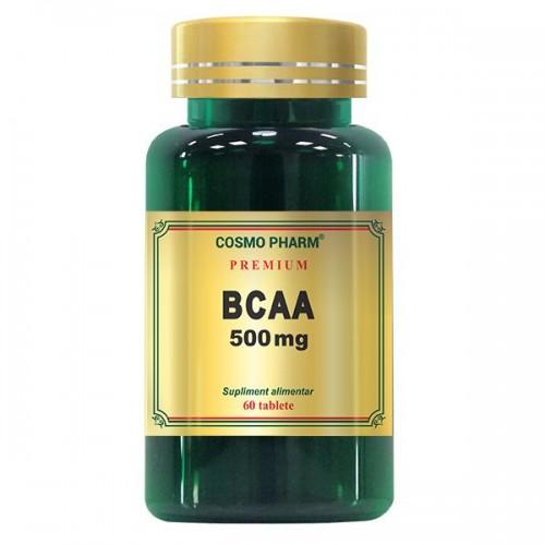 BCAA, 500mg, 60 tablete, Cosmopharm