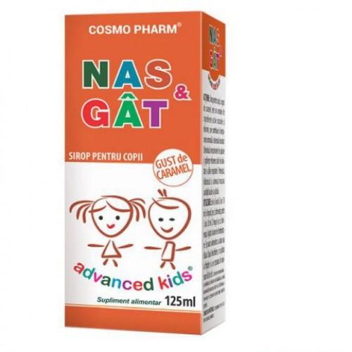 Advanced Kids, Sirop Nas si Gat, 125ml, Cosmopharm