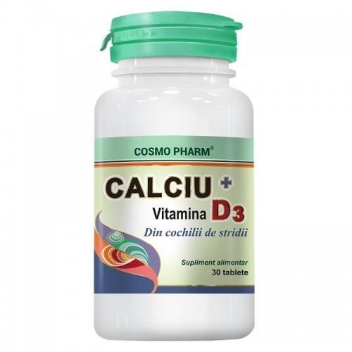 Calciu+Vitamina D3, Cosmopharm