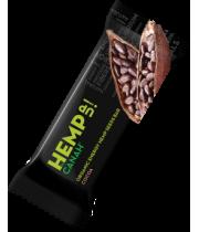 Baton seminte de canepa cu cacao Eco 48g, Canah International