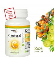 C Natural cu Catina si Amalaki (Vitamina C) 60 comprimate masticabile, Dacia Plant
