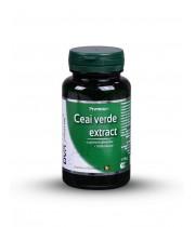 Ceai Verde extract 60cps, DVR Pharm