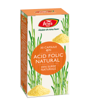 Acid Folic Natural, G71, 30 capsule, Fares