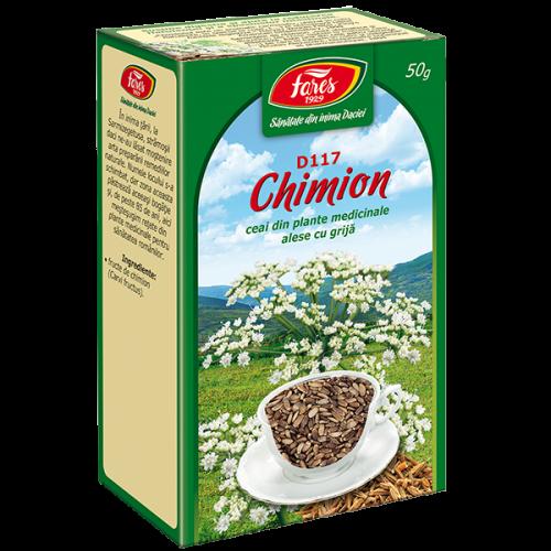Ceai Chimion, fructe, D117, vrac 50 g Fares