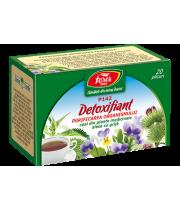 Ceai Detoxifiant-Purificarea organismului, P142, 20 plicuri Fares