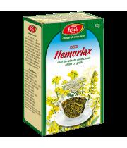 Ceai Hemorlax, D53, vrac 50 g Fares