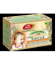 Ceai Babycalm, 20 plicuri, Fares