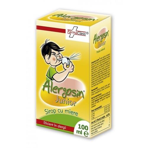 Sirop Alergosin Junior, 100 ml, FarmaClass