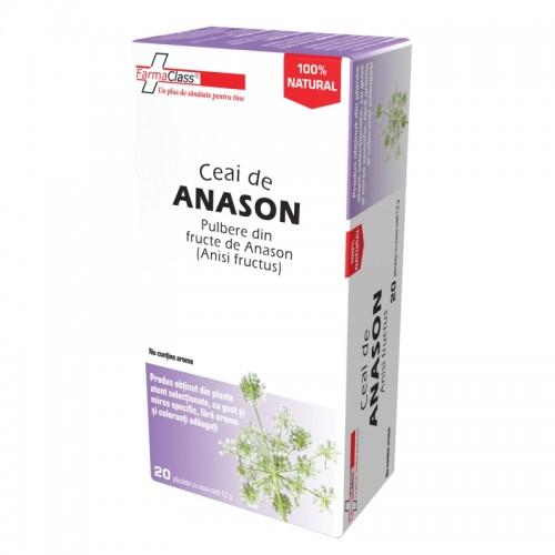 Ceai de anason 20 plicuri, FarmaClass