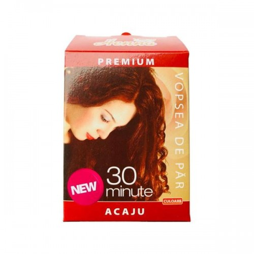 Vopsea par Henna Premium Acaju 60g, Kian Cosmetics