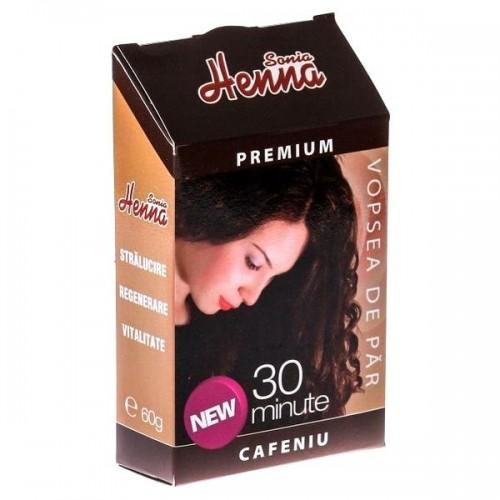 Vopsea par Henna Premium Cafeniu 60g, Kian Cosmetics