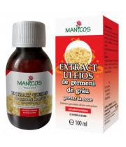 Extract uleios de germeni de grau 100ml, Manicos