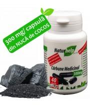 CARBUNE MEDICINAL 300MG 40 CAPSULE NATURHELP