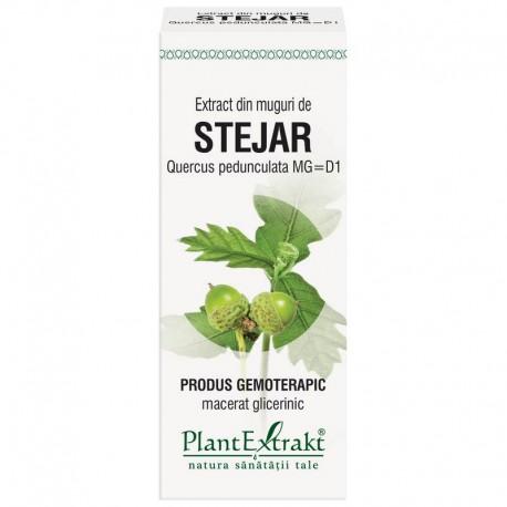 Extract din muguri de STEJAR - Quercus pedunculata MG=D1, 50 ml, PlantExtrakt