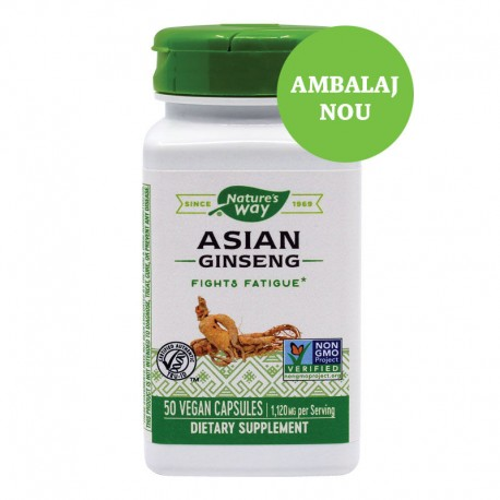 ASIAN GINSENG 50 CPS, SECOM