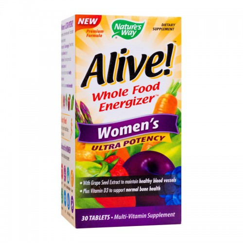 ALIVE WOMEN'S ULTRA 30 TABLETE, SECOM
