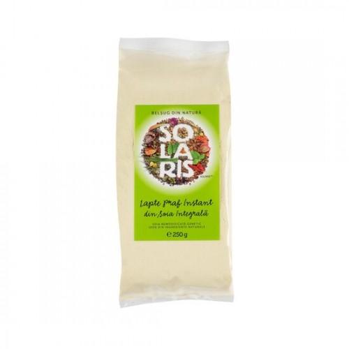 Lapte praf instant din soia integrala 250g, Solaris Plant