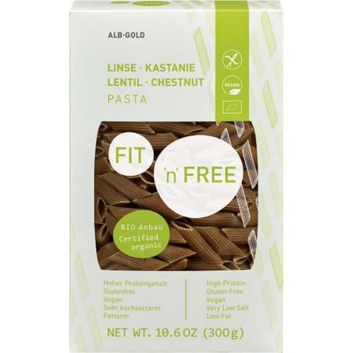 Paste Proteice Bio Din Castane Si Linte 300G ALB-GOLD